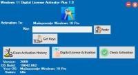 Windows 11 Digital License Activator Plus 1.0
