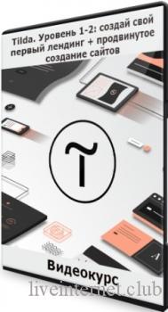 Tilda. Уровень 1-2: создай свой первый лендинг + продвинутое создание сайтов (2021) Видеокурс