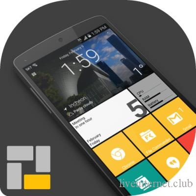 Square Home Premium — Launcher Windows style 2.2.6 (Android)