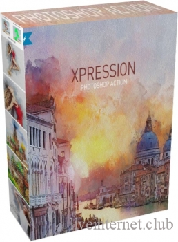 GraphicRiver - XPRESSION | Watercolor Painting PS Action